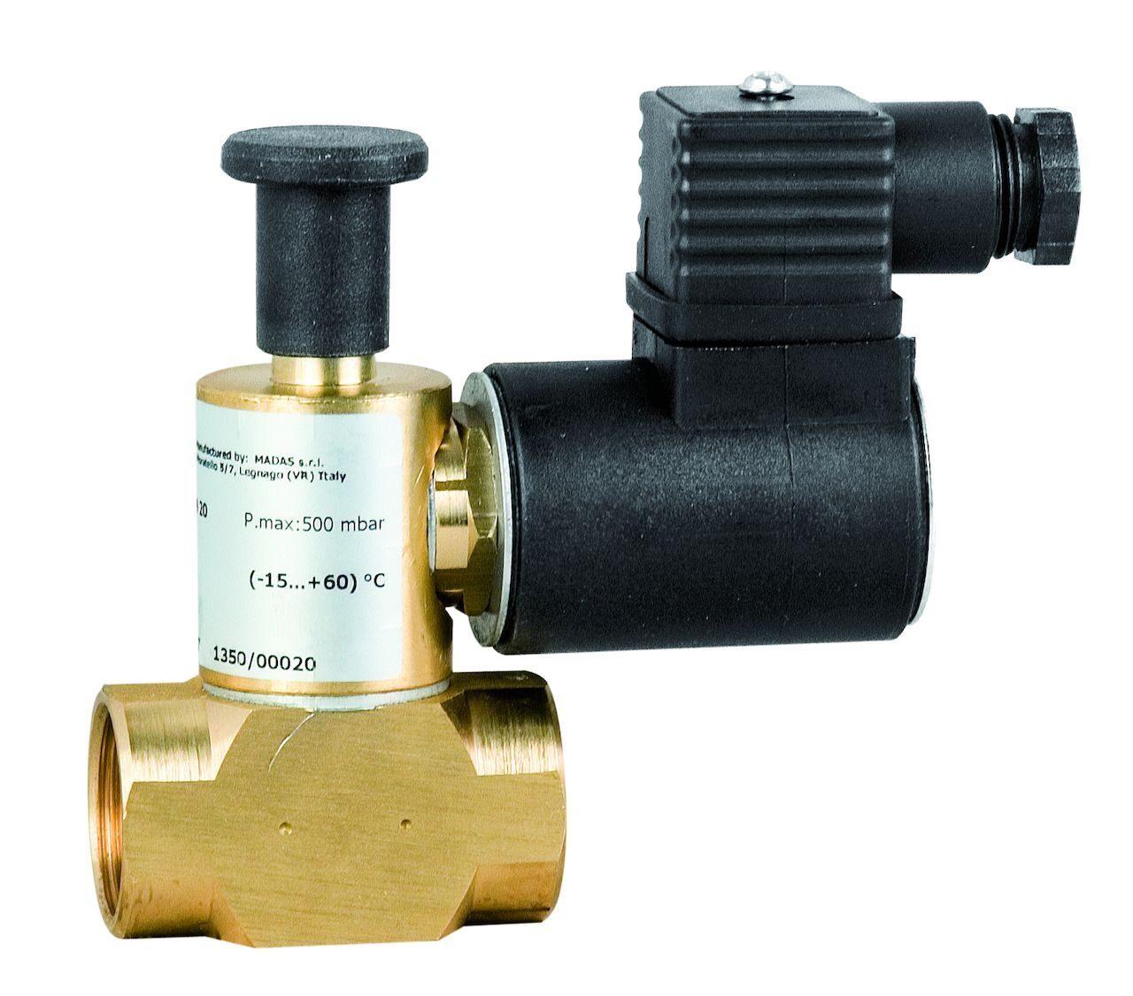 электромагнитный клапан отсечной газовый